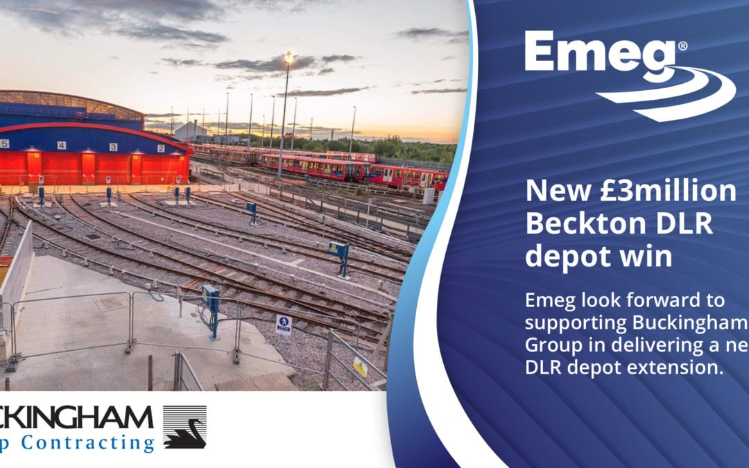 New £3m Beckton DLR Depot Contract Win