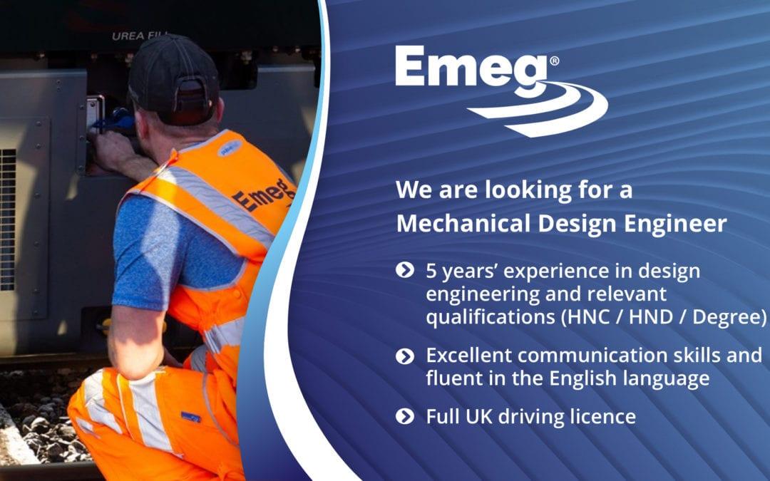 Job ad – Mechanical Design Engineer