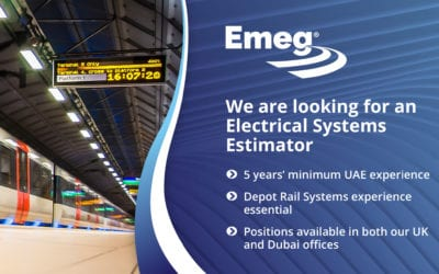 Electrical Rail Systems Estimator