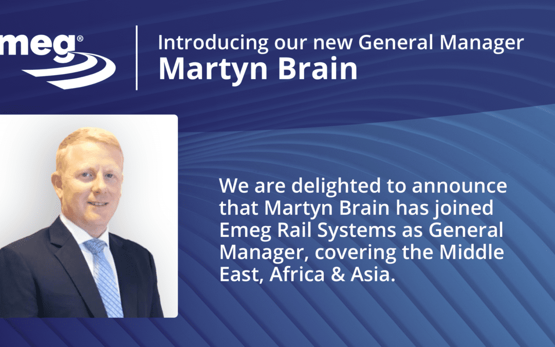 Martyn Brain Appointed as General Manager Middle East, Africa & Asia