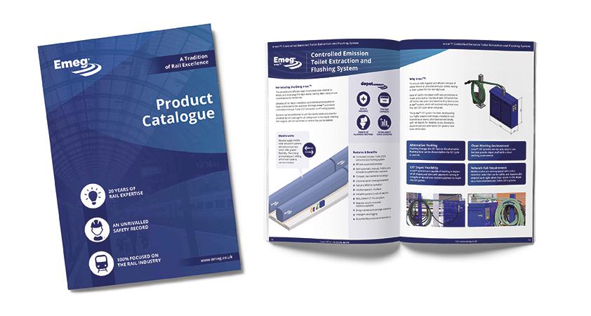 Emeg Product Catalogue mockup